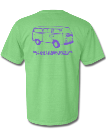 Mystery Destination Short Sleeve Neon Green Medium