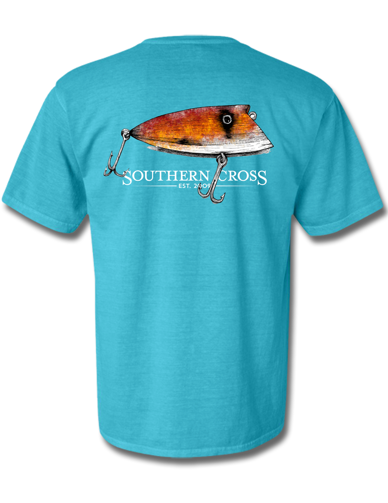 Grandpas Lure Adult Short Sleeve, T-Shirt - Southern Cross Apparel