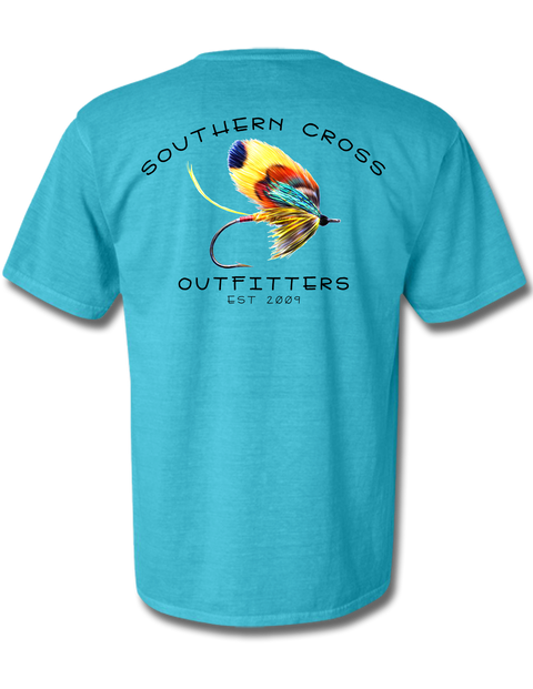 On the Fly Short Sleeve, T-Shirt - Southern Cross Apparel