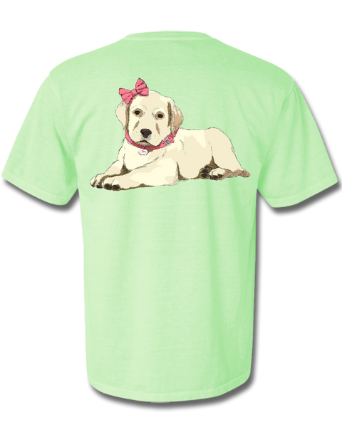 Pretty Puppy in Pink Short Sleeve, T-Shirt - Southern Cross Apparel