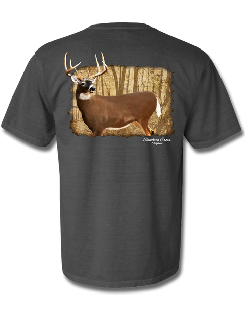 Whitetail Legend Short Sleeve, T-Shirt - Southern Cross Apparel