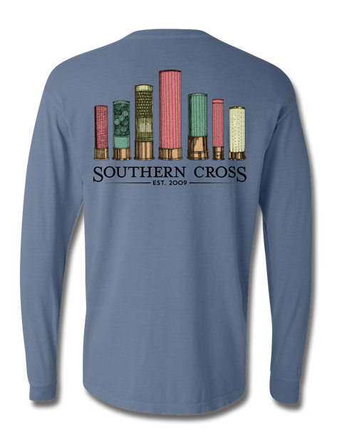 Gauge Your Game Long Sleeve, T-Shirt - Southern Cross Apparel