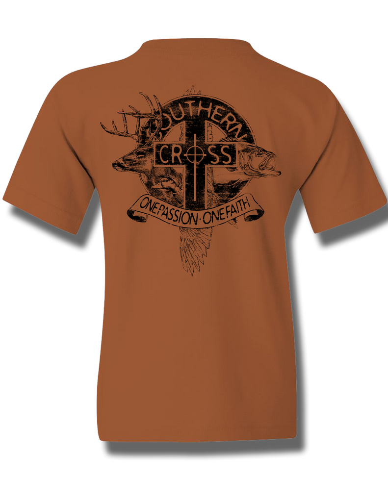 The Trinity Youth Short Sleeve, T-Shirts - Southern Cross Apparel