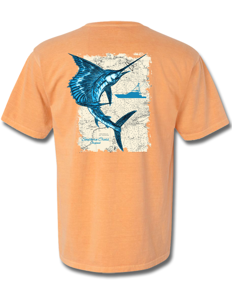 Southern Sail Short Sleeve, T-Shirts - Southern Cross Apparel