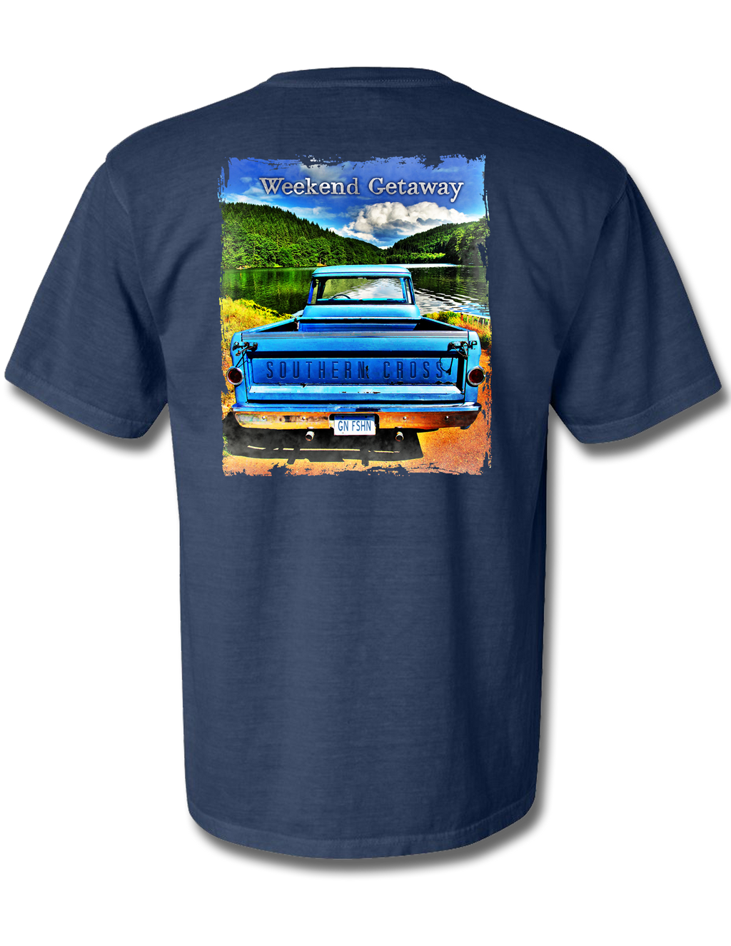 Weekend Getaway, T-Shirts - Southern Cross Apparel