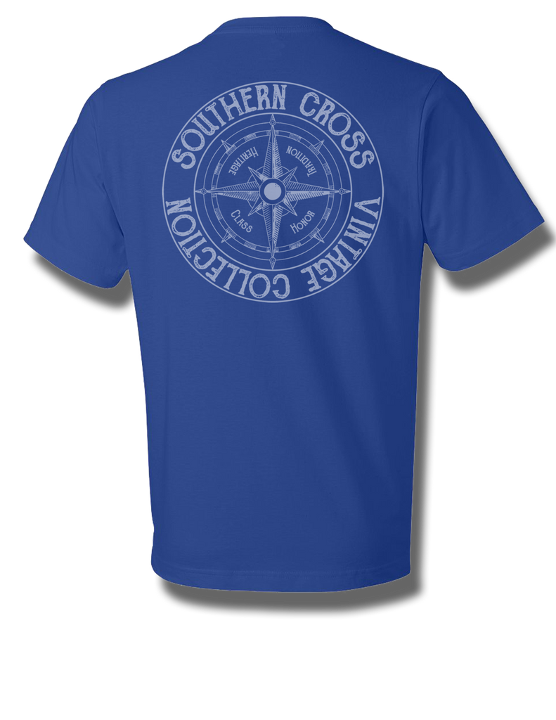 Vintage Logo Short Sleeve, T-shirts - Southern Cross Apparel