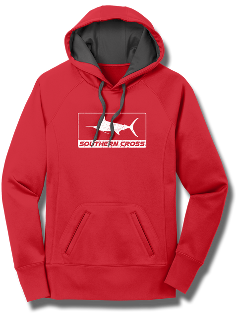 Hydrofoil Ladies Performance Hoodie, Sweatshirt - Southern Cross Apparel