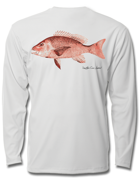Red Snapper Youth Performance Long Sleeve, Performance Gear - Southern Cross Apparel