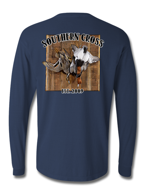 Hangin Loose Long Sleeve, T-Shirts - Southern Cross Apparel