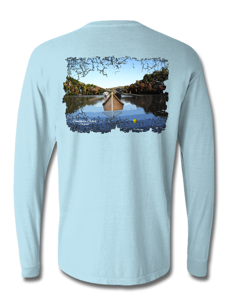 Up A Creek Long Sleeve, Tees - Southern Cross Apparel