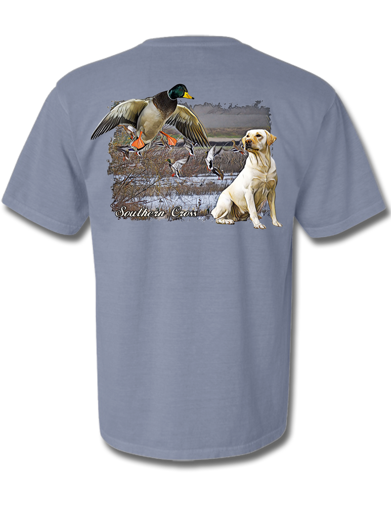 Delta Duck Dog Adult Short Sleeve, Tees - Southern Cross Apparel
