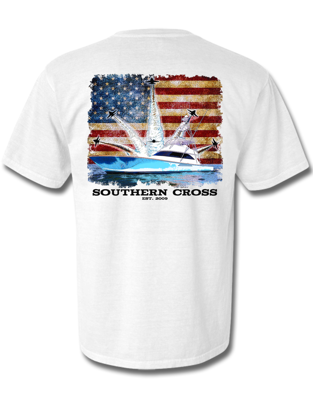 Blue Angels Offshore Short Sleeve, T-Shirts - Southern Cross Apparel