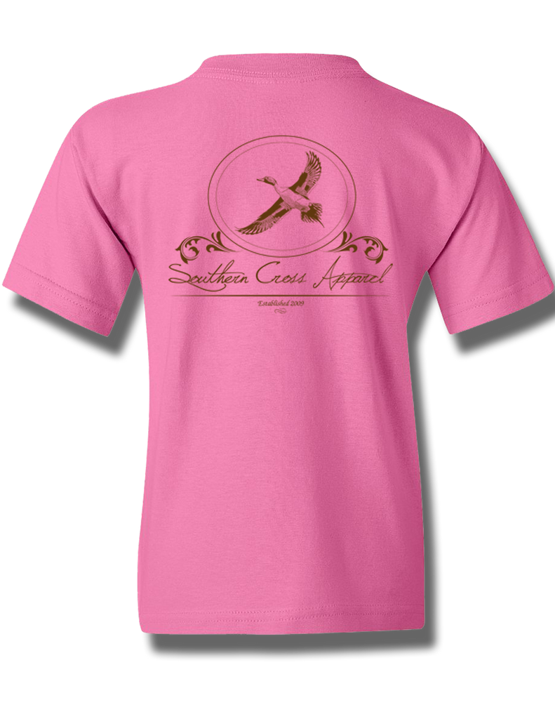 Pintail Oval Azalea Youth Short Sleeve L, T-Shirts - Southern Cross Apparel