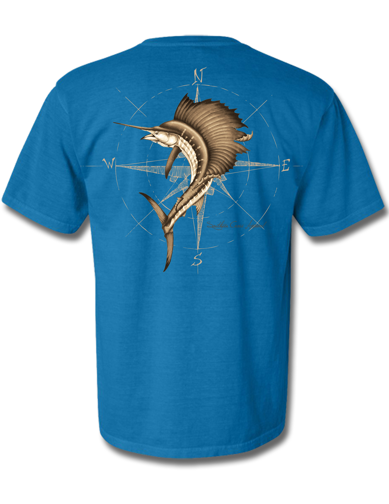 4 Winds Adult Short Sleeve, T-Shirts - Southern Cross Apparel