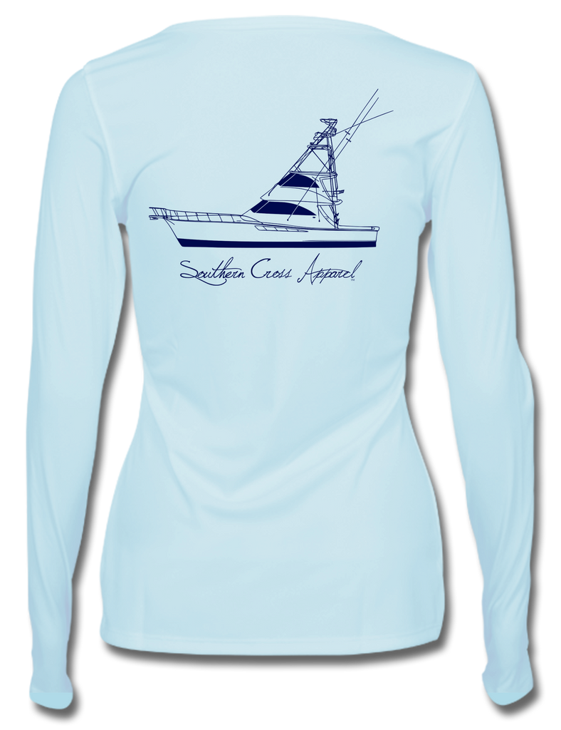 57 Sportfisher Womens Performance, Womens Performance - Southern Cross Apparel