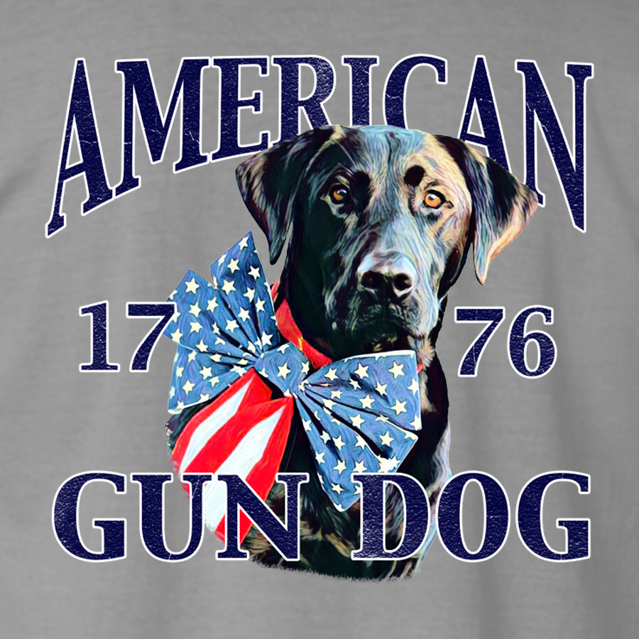 American Gun Dog Adult Short Sleeve, T-Shirts - Southern Cross Apparel
