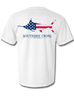 American Marlin Adult Short Sleeve, T-Shirts - Southern Cross Apparel
