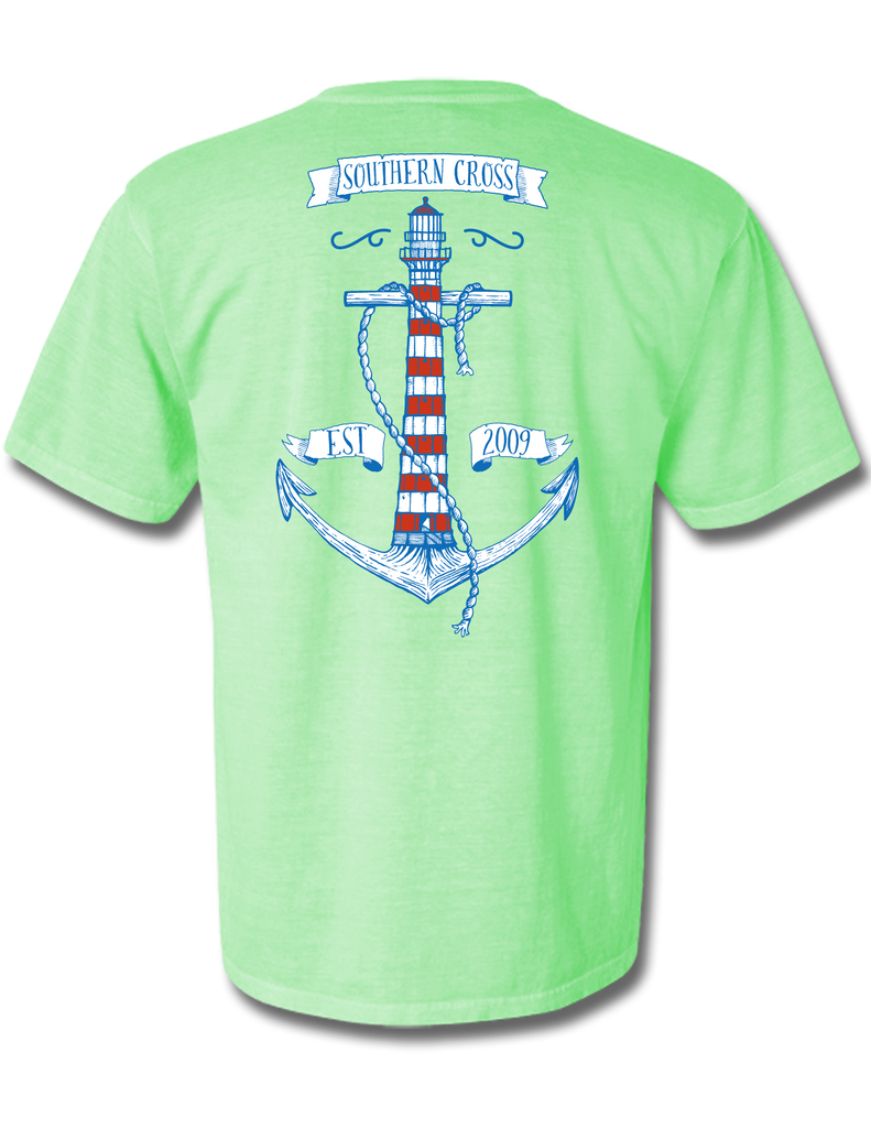 Anchor House Short Sleeve, T-Shirts - Southern Cross Apparel