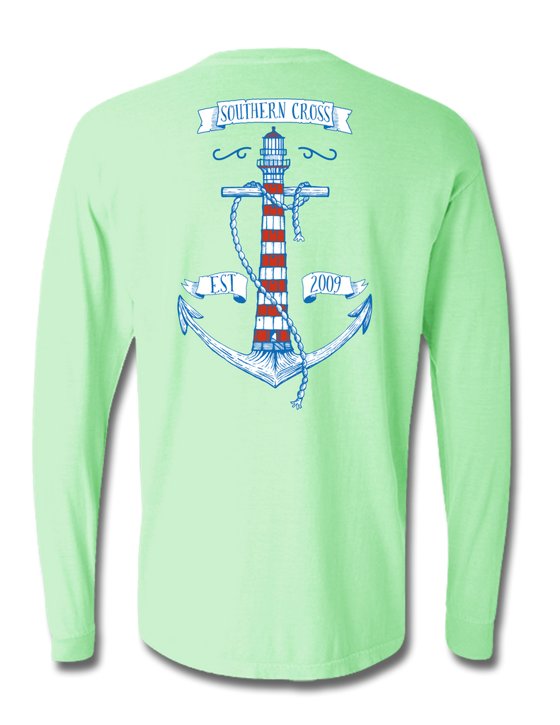 Anchor House Long Sleeve, T-Shirts - Southern Cross Apparel