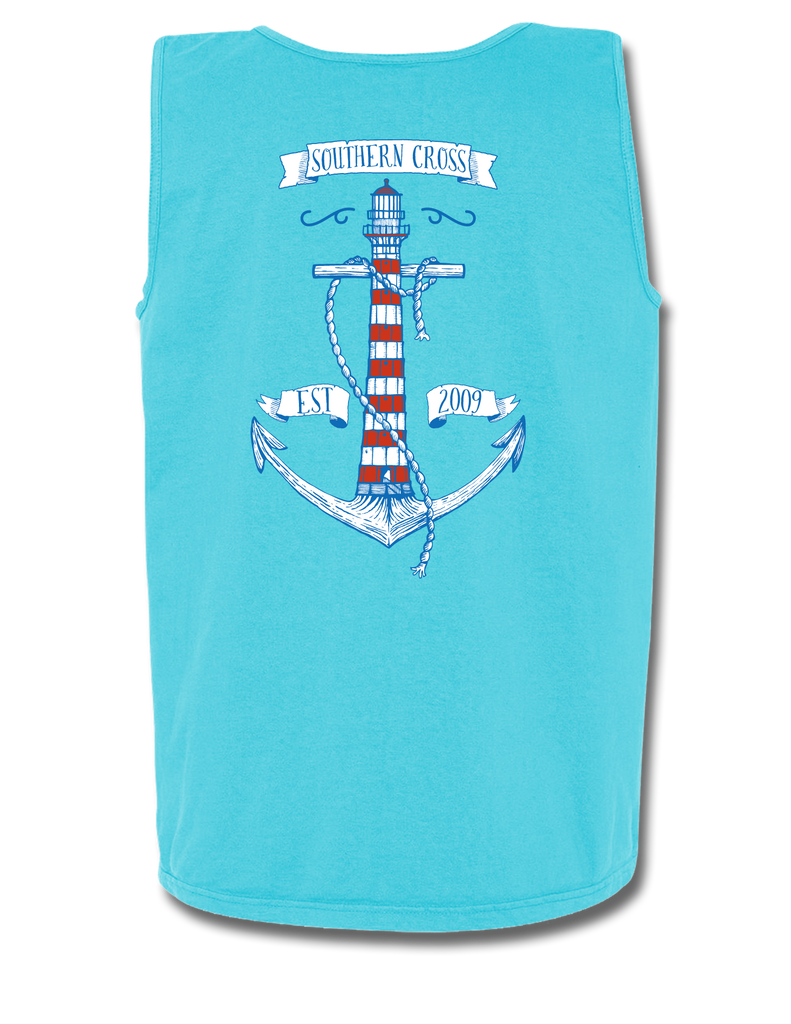 Anchor House Tank Top, Tank Top - Southern Cross Apparel