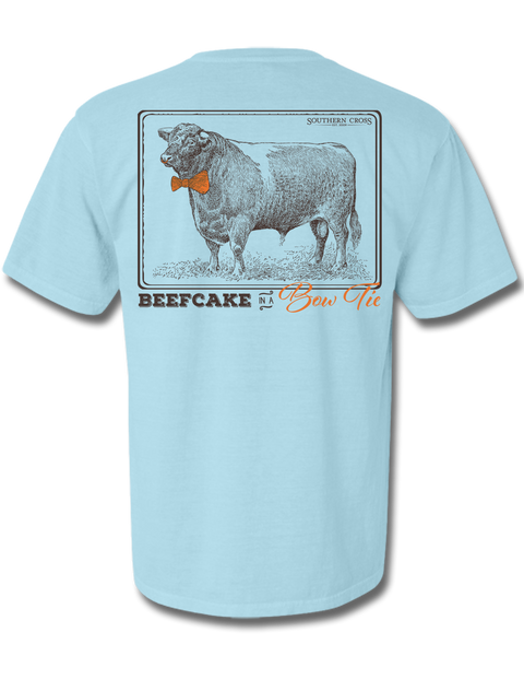 Beefcake in A Bowtie Adult Short Sleeve, T-Shirts - Southern Cross Apparel