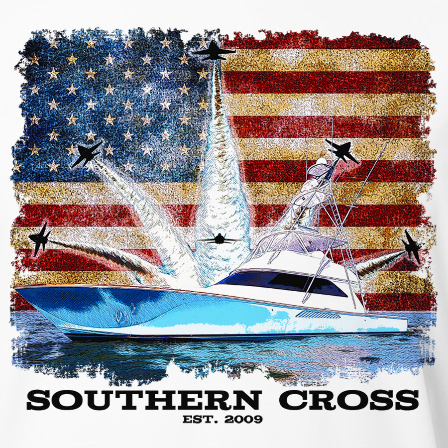 Blue Angels Offshore Adult LS Performance, Adult LS Performance - Southern Cross Apparel