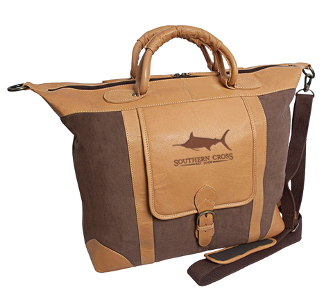 Bobwhite Leather Tote, Accessories - Southern Cross Apparel