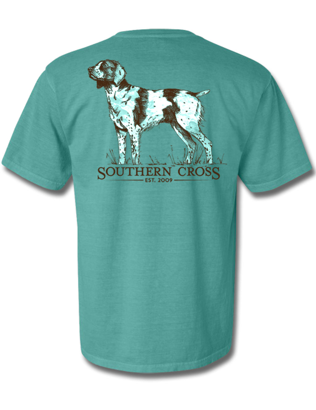 Brittany Spaniel Short Sleeve, T-Shirts - Southern Cross Apparel