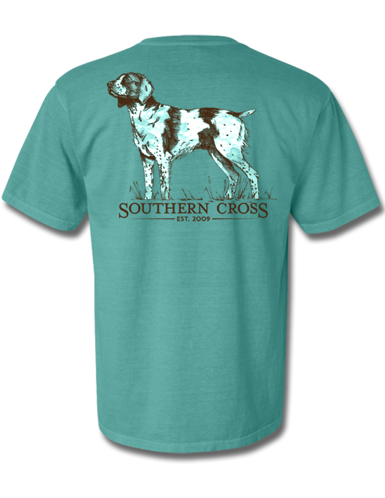 Brittany Spaniel Adult Short Sleeve, T-Shirts - Southern Cross Apparel