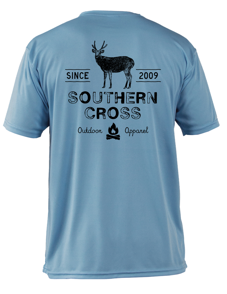 Campfire Deer Tales Adult SS Performance,  - Southern Cross Apparel