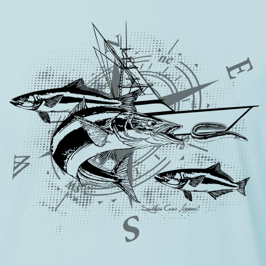 Cobia Adult LS Performance, Performance Gear - Southern Cross Apparel