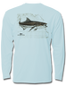 Cobia Map Kids Long Sleeve Performance, Performance Gear - Southern Cross Apparel