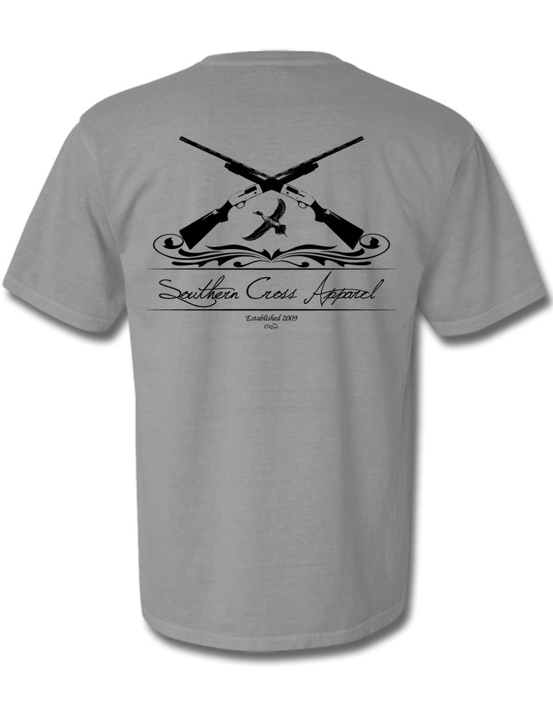 Crossed Shotguns Adult Short Sleeve, Adult SS Tee - Southern Cross Apparel