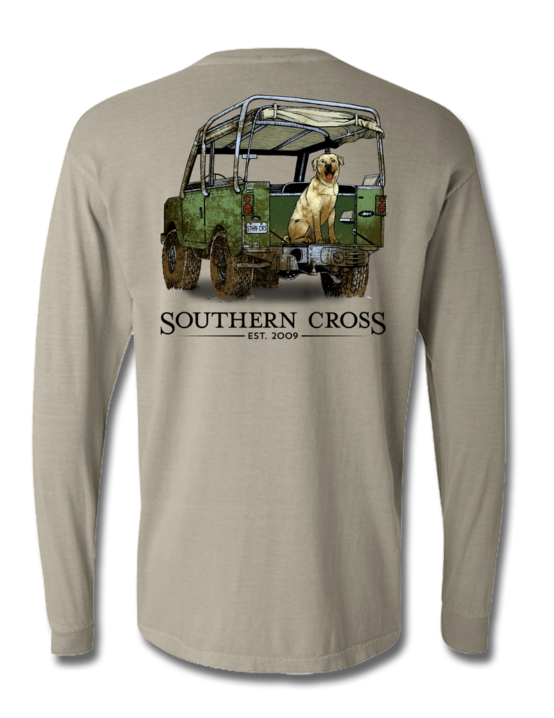 Defender Adult Long Sleeve, Adult LS Tee - Southern Cross Apparel