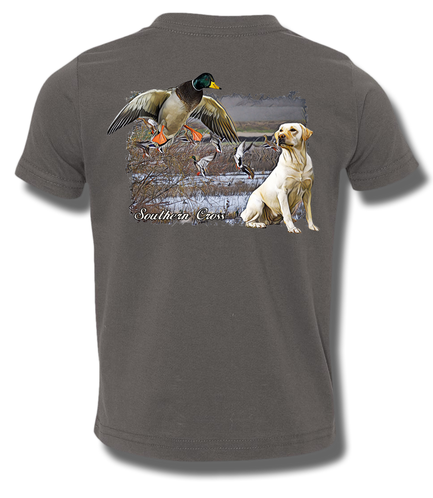 Delta Duck Dog Kids Short Sleeve, T-Shirts - Southern Cross Apparel
