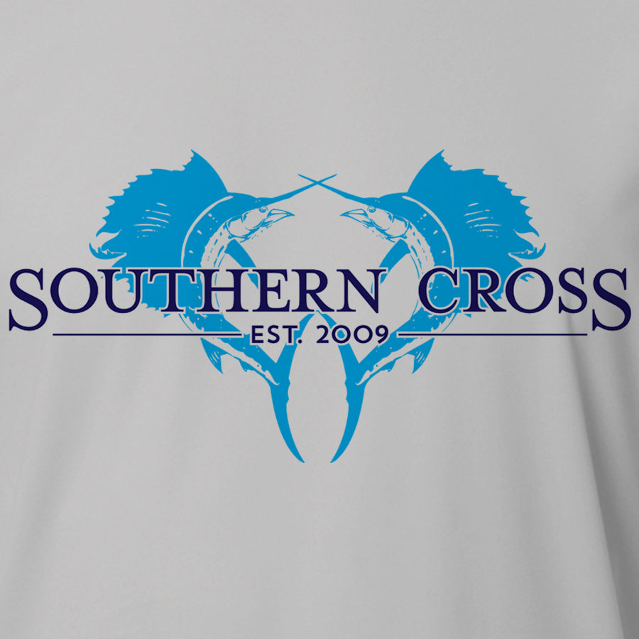 Double Down Adult LS Performance, Adult LS Performance - Southern Cross Apparel