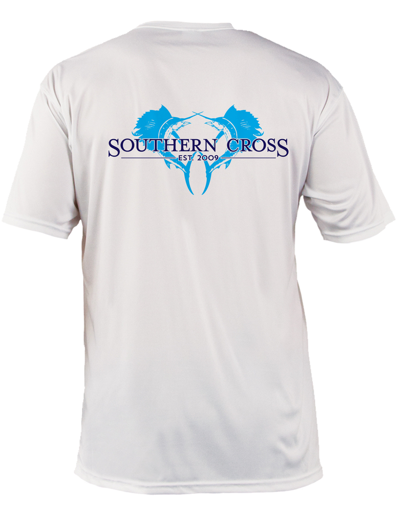 Double Down Adult SS Performance,  - Southern Cross Apparel