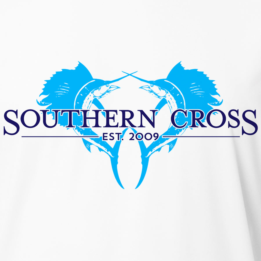 Double Down Womens Performance, Womens LS Performance - Southern Cross Apparel
