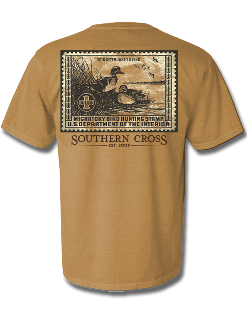 Duck Stamp 1940 Adult Short Sleeve, Adult SS Tee - Southern Cross Apparel