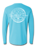 Fishing Stamp Long Sleeve, T-Shirts - Southern Cross Apparel
