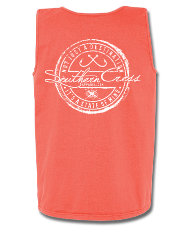Fishing Stamp Tank Top