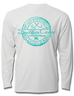 Fishing Stamp Performance Gear Long Sleeve, Performance Gear - Southern Cross Apparel