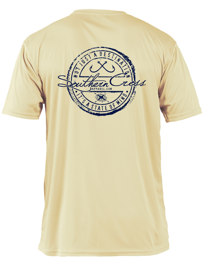 Fishing Stamp Adult SS Performance,  - Southern Cross Apparel