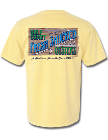Fresh Shucked Oysters Short Sleeve