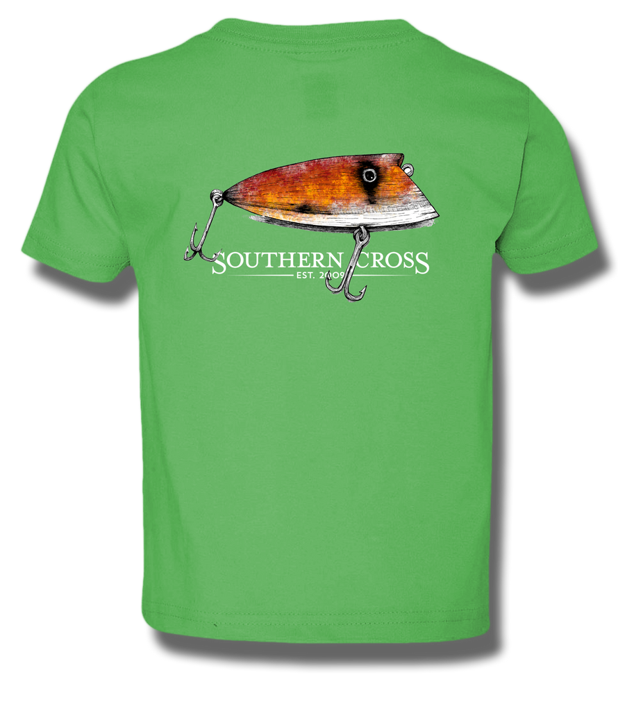 Grandpas Lure Youth Short Sleeve, T-Shirts - Southern Cross Apparel