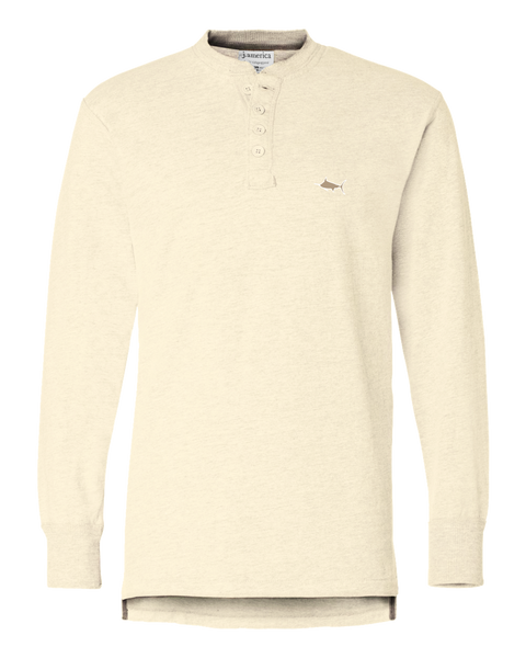 Southern Cross Men's Henley, Henley - Southern Cross Apparel
