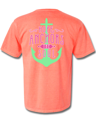 Hope Anchors the Soul Short Sleeve