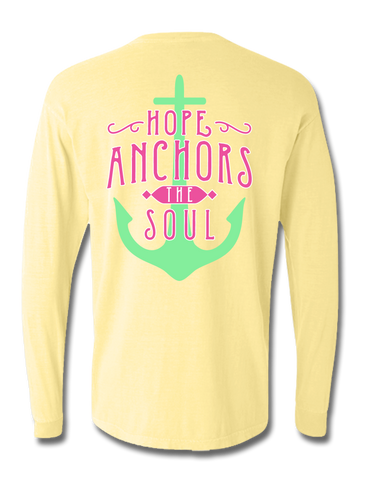Hope Anchors the Soul Long Sleeve