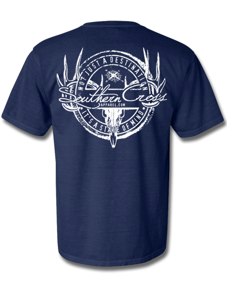 Hunting Stamp Short Sleeve, T-Shirts - Southern Cross Apparel