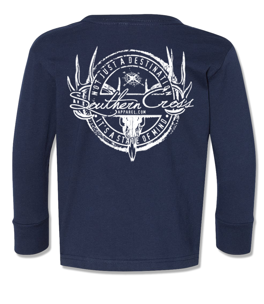 Hunting Stamp Kids Long Sleeve